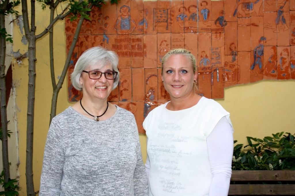 v.l.n.r.: Renate Krämer und Marina Krischeu