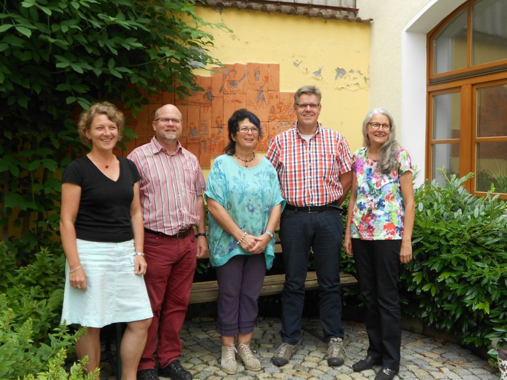 v.l.n.r.: Ulrike Mathias, Gernot Hübner, Heidrun Dilling, Dr. Harald Dippel und Brigitte Kiese