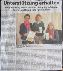 Zeitungsartikel ExtraTip 2014-03-23