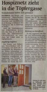 Zeitungsartikel - Werra-Rundschau